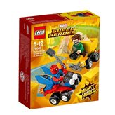 LEGO 76089, Marvel Super Heroes, Scarlet Spider vs. Sandman, mighty micros