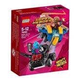 LEGO 76090, Marvel Super Heroes, Star-Lord vs. Nebula, mighty micros
