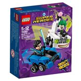 LEGO 76093, DC Comics Super Heroes, Nightwing vs. The Joker, mighty micros