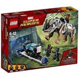 LEGO 76099, Marvel Super Heroes, Rhino Face-Off by the Mine, okršaj kod rudnika