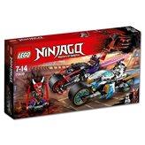 LEGO 70639, Ninjago, Street Race of Snake Jaguar, ulična utrka zmijskog jaguara