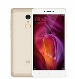 "Smartphone Xiaomi Redmi Note 4, 5.5"" multitouch IPS, Snapdragon 625, OctaCore 2.0 GHz Cortex A53, 3GB RAM, 32GB Flash, WiFi, BT, kamera, Android, zlatni"