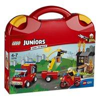 LEGO 10740, Juniors, Fire Patrol Suitcase, kovčeg s vatrogascima