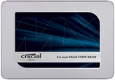 "SSD 500.0 GB CRUCIAL MX500, CT500MX500SSD1, SATA3, 2.5"", maks do 560/510 MB/s"