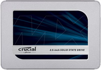 """SSD 500.0 GB CRUCIAL MX500, CT500MX500SSD1, SATA3, 2.5"""", maks do 560/510 MB/s"""