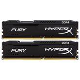 Memorija PC-19200, 16 GB, KINGSTON HyperX Fury, HX424C15FB2K2/16, DDR4 2400 MHz, kit 2x8GB