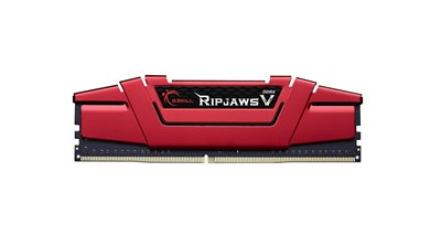 Memorija PC-19200, 8 GB, G.SKILL Ripjaws V Series, F4-2400C17S-8GVR, DDR4 2400MHz