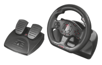 Volan TRUST GXT 580 Sano Vibration Racing Wheel, pedala, PS3/PC, USB
