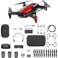 Dron DJI Mavic Air Fly More Combo, Flame Red, 4K UHD kamera, 3-axis gimbal, vrijeme leta do 21min, upravljanje daljinskim upravljačem, dodatna oprema, crveni