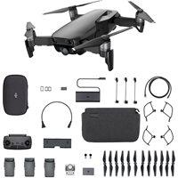 Dron DJI Mavic Air Fly More Combo, Onyx Black, 4K UHD kamera, 3-axis gimbal, vrijeme leta do 21min, upravljanje daljinskim upravljačem, dodatna oprema, crni