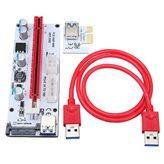 Riser kartica za grafičku karticu PCI-E, PCE164P-N06 VER008S, SATA, USB 3.0, 0.6m kabel