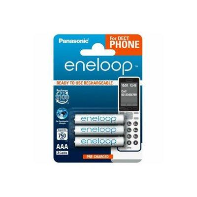 Baterija PANASONIC Eneloop BK4MCCE3DE, tip AAA, punjive, 800 mAh, 3kom