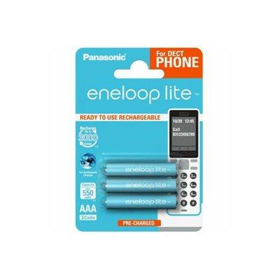 Baterija PANASONIC Eneloop lite BK4LCCE3DE tip AAA B3, punjive, 600 mAh, 3kom
