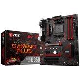 Matična ploča MSI B350 Gaming Plus, AMD B350, DDR4, zvuk, G-LAN, SATA, M.2, D-Sub, DVI, DP, HDMI, PCI-E 3.0, USB 3.1, ATX, s. AM4