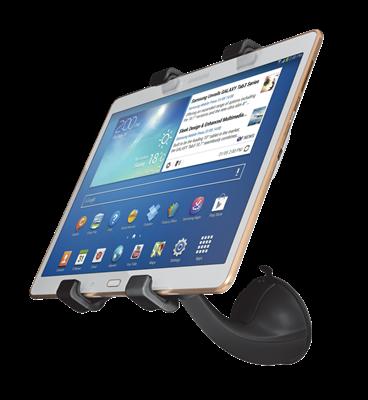 """Držač za tablet računala TRUST Ziva, 21815, 7-11"""", za vjetrobransko staklo u autu, crni"""