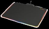Podloga za miš TRUST GXT 760 Glide, RGB, crna