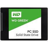 """SSD 120.0 GB WESTERN DIGITAL Green, WDS120G2G0A, SATA 3, 2.5"""", 540/430 MB/s"""