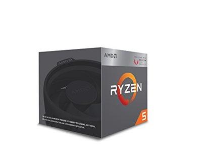 Procesor AMD Ryzen 5 2400G BOX, s. AM4, 3.9GHz, 6MB cache, Quad Core, RX Vega, Wraith Stealth cooler