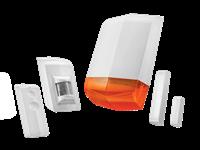 Smart Home bežična oprema za zaštitu TRUST ALSET-2000, senzor za vrata i prozore, senzor pokreta, daljinski, sirena