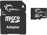 Memorijska kartica G.SKILL, Micro SDHC, 32 GB Class 10 + adapter