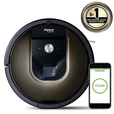 Robotski usisavač iRobot Roomba 980