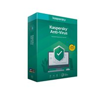 KASPERSKY Anti-Virus, 3D, licenca jedna godina