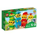 LEGO 10861, Duplo, My First Emotions, moji prvi osjećaji