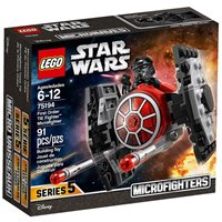 LEGO 75194, Star Wars, First Order TIE Fighter Microfighter