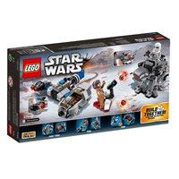 LEGO 75195, Star Wars, Ski Speeder vs. First Order Walker