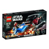 LEGO 75196, Star Wars, A-Wing vs. TIE Silencer