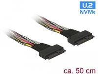 Kabel DELOCK U.2 SFF-8639 na U.2 SFF-8639, 50 cm