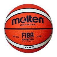 Košarkaška lopta MOLTEN BGR7-OI, gumena, vel.7, narančasto/siva