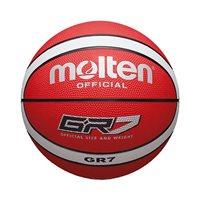 Košarkaška lopta MOLTEN BGR7-RW gumena, vel.7, crveno/siva