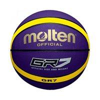 Košarkaška lopta MOLTEN BGR7-VY, gumena, vel.7, ljubičasto/žuta