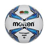 Nogometna lopta MOLTEN F5V3850, sintetička koža, vel.5, bijelo/plava