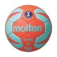 Rukometna lopta MOLTEN H2X3000, sintetička koža, vel.2, narančasto/tirkizna
