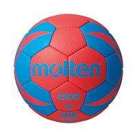 Rukometna lopta MOLTEN H2X3200, sintetička koža, vel.3, crveno/plava