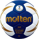 Rukometna lopta MOLTEN H3X5001, sintetička koža, vel.3, IHF službena lopta, plava