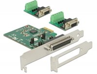 Kontroler PCI-E, DELOCK, 2x serijski port RS-422/485 ESD, low profile