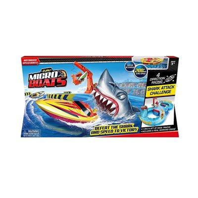 Set za igru MICRO BOATS, Shark Attack Challenge
