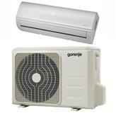 Klima uređaj GORENJE KAS35 vanjska + unutarnja jedinica, grijanje (4kW), hlađenje (6,1kW), A+/A++