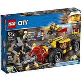 LEGO 60186, City, Mining Heavy Driller, rudarska teška bušilica