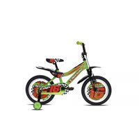 Dječji bicikl CAPRIOLO Kid 16˝, zeleni