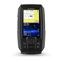 Fishfinder GARMIN Striker Plus 4cv (s krmenom sondom CHIRP 77/200kHz/DownVü GT20-TM, 4-pin), GPS