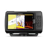 Fishfinder GARMIN Striker Plus 7cv (s krmenom sondom CHIRP 77/200kHz/DownVü GT20-TM, 4-pin), GPS