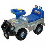 Guralica za djecu, Racing Jeep, sivi
