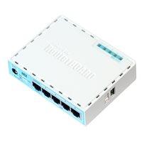 Router MikroTik RB750Gr3, hEX, Dual Core 880MHz MHz CPU, 256MB RAM, 5×Gigabit LAN, USB, RouterOS L4, plastično kućište, PSU