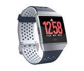 Sportski sat FITBIT Ionic Adidas, GPS, NFC, senzor otkucaja srca, vodootporan, plavo/sivi  -  preorder