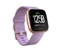 Sportski sat FITBIT Versa SE, NFC, senzor otkucaja, connected GPS, tkani i klasični remen L i S uključeni, rozi