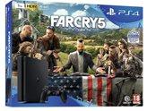 Igraća konzola SONY PlayStation 4, 1000GB, Slim E Chassis, crna, igra Far Cry 5